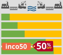 Flash sale - 50% of Incoterms training up to March 7th