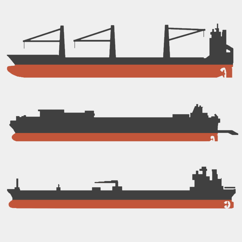An icon representing some vessels for our ship and vessel profiles article